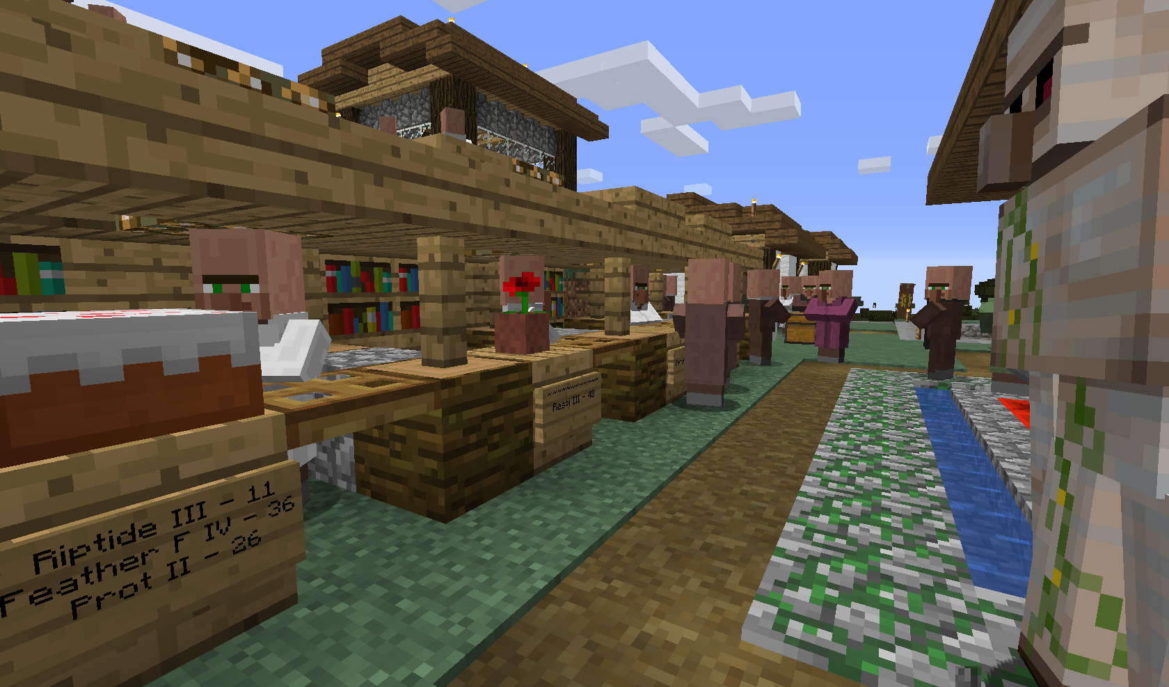 Cool places & constructions on the OC server! - Minecraft