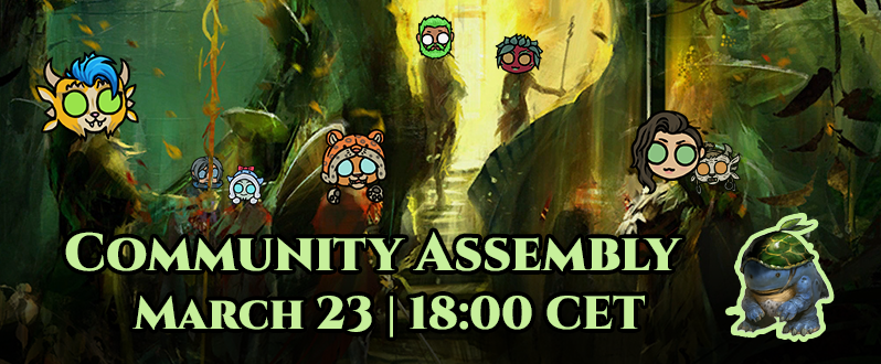 3rd Community Assembly - March 23rd!