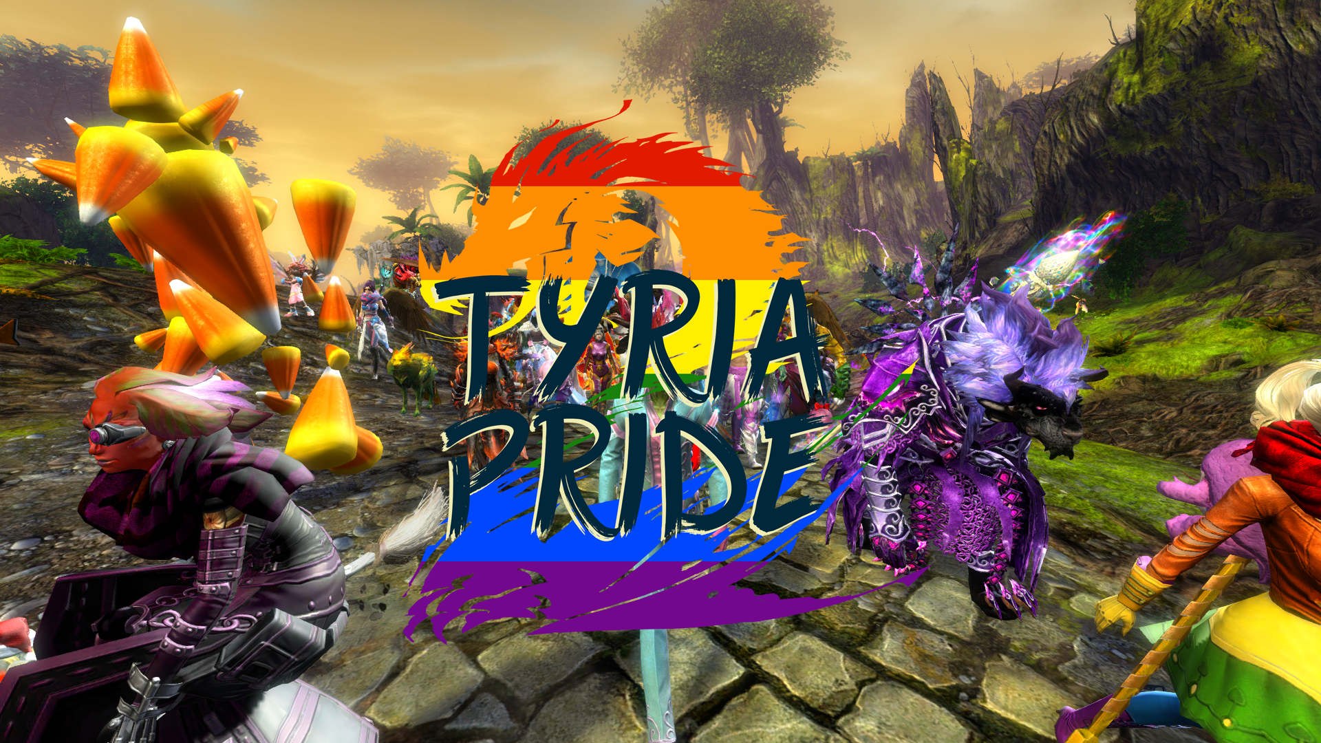 Tyria Pride - Day 2!