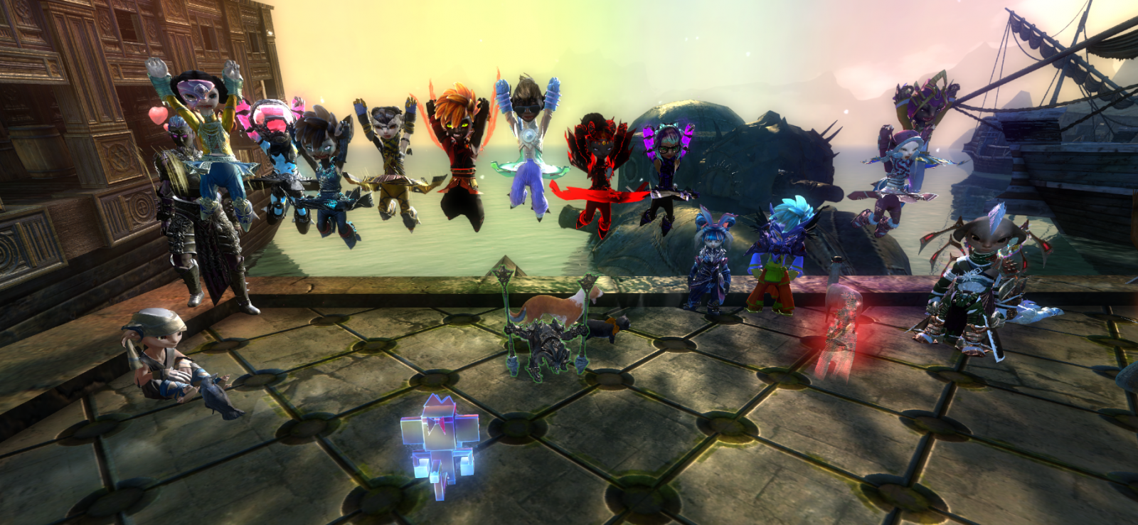 The contestants from the Rata Sum edition of Fashion Wars!