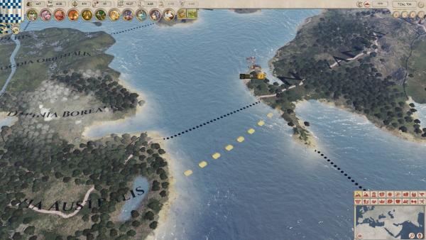 In Imperator: Rome, all roads lead to... the North Channel?