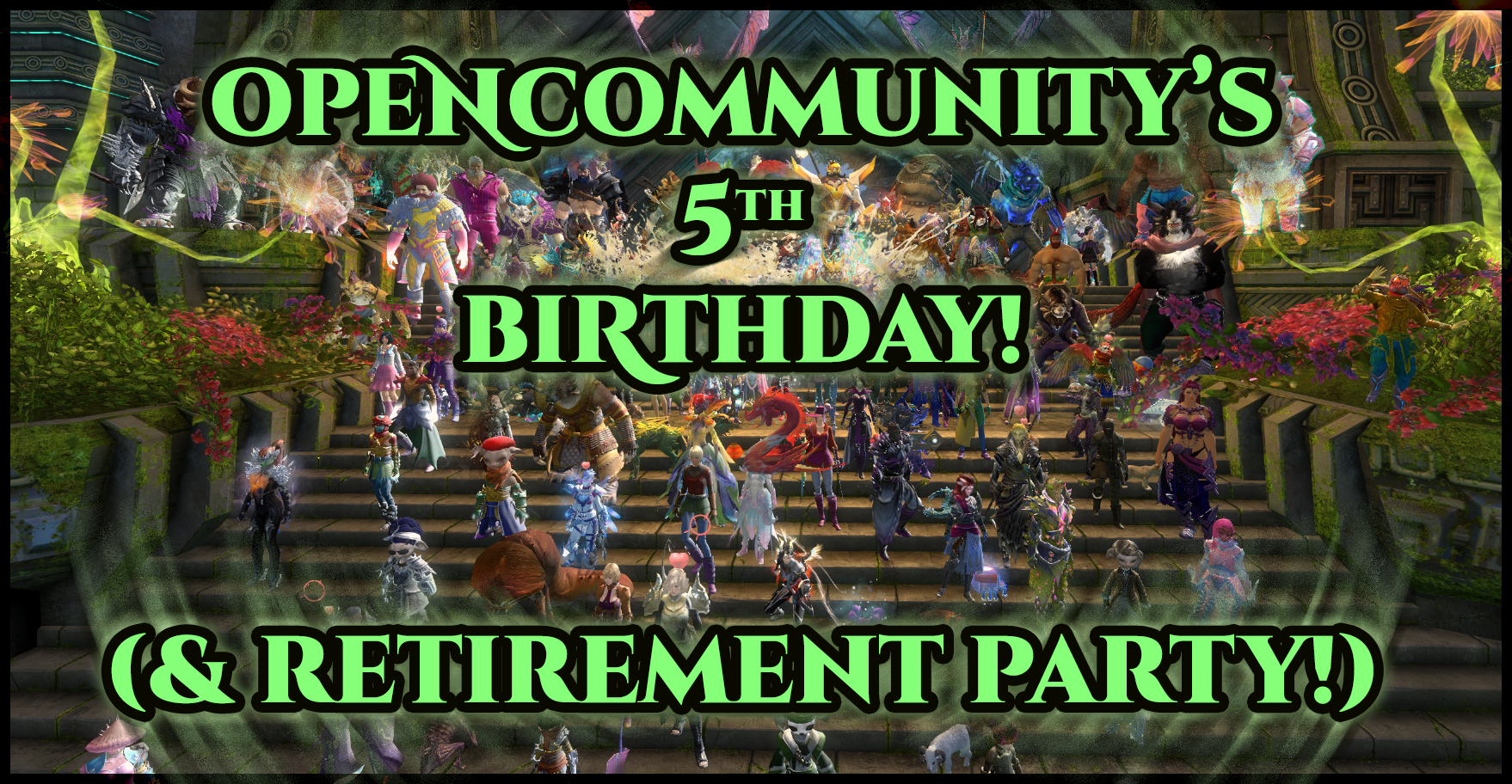 Happy 5th Birthday, OC - Retirement Party on May 23rd!